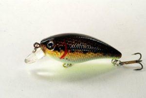Akuna [BP 54 7,4cm Bass Leurre de pêche Crankbait, holographique Dirty Basses