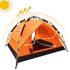 Camel Auvent hydraulique Automatique de Tente de dôme de Tente Camper Les tentes hydrauliques imperméables automatiques 2-3 Personnes