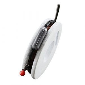 Cutogain Fil de Pêche pivotant Articles de Pêche kit d'outils rotatifs Ensemble de leurres de Ligne à la Carpe à L'eau Salée Poissons Accessoires, 4,5 m