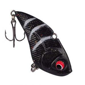 HATCHMATIC 1pcs 5cm Vibration Pêche VIB 13,6 g Lure Pêche Douce Wobbler Crank Artificielle Japon Pêche de Pesca Tackle Pesca: 04