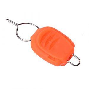 HATCHMATIC Nouveaux 5pcs / Set coulée Bobine Bouchon Liner Poisson Ligne de pêche Porte d'arrêt Feeder Materiel de pêche # 1023: Orange