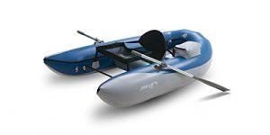 Outcast Boats Poisson Chat Scout sans cadre Bateau de pêche Bleu foncé/gris clair, taille unique