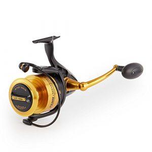 Penn Moulinet de pêche rotatif de Noir, mixte, 1259881, Noir, 9500