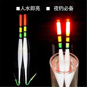 Roblue Flotteur Electronique Lumineux pour Peche en Plastique 18.5cm/5pcs