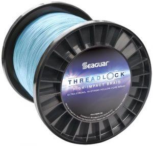 Seaguar Threadlock tressée Ligne de pêche, Bleu, 36,3Kilogram/2286m