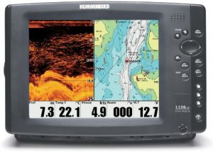 Sondeur Echo Radar Pêche FF1158c HD-Di Sonde Traversante Plastique & Température