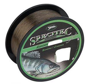 Specitec Fil de Peche monofil pour poisson anguille ,perche ,bateau cabillaud , truite , carpe , poisson blanc , brochet , sandre , (Sandre, 0,30 mm)