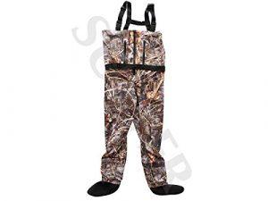 SUTTER® Pantalon de pêche imperméable et Respirant Camouflage, XL
