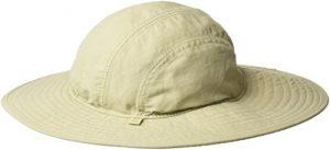 White Sierra Bug Free Sun Chapeau de Paix Taille S