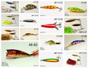 Akuna [Oh Recommandation Pros 'Pick Collection de leurres pour Basses, Panfish, Truite, Brochet et doré Jaune Pêche en Ohio (Bass 15-a)