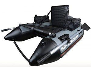 Savage Gear High Rider Belly Boat 170 – Bateau Belly pour la pêche à la mouche et au lancer depuis un bateau, bateau gonflable