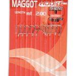Maggot Hooks 10ami liés sur carton–12x 14, –