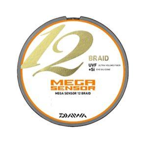 Daiwa (PE Line Mega Sensor 12 Tresse 300 m 5.0#‿#‿#‿#‿#‿Multicolor