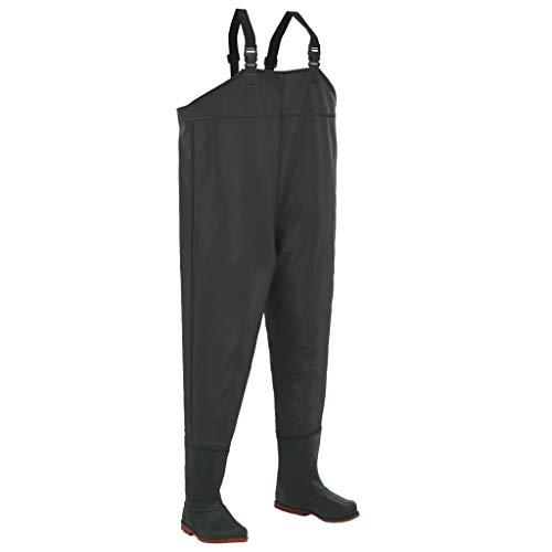 hualiyuyuan Pantalon échassier avec Bottes Vert Pointure 39