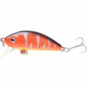 4,5CM / 4g Jerkbait leurres de pêche Professionnels appâts artificiels leurres pour la pêche Professionnelle Universel 8