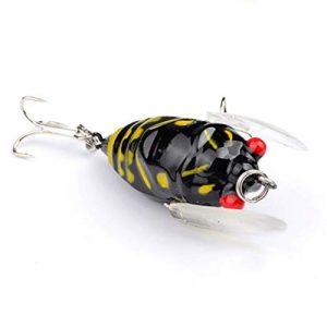 Corneliaa Durable Métal Spinner Spoon Bait Fishing Bait Bait Bait Appâts Artificielles Rigides Rigides Leurre Équipement De Pêche
