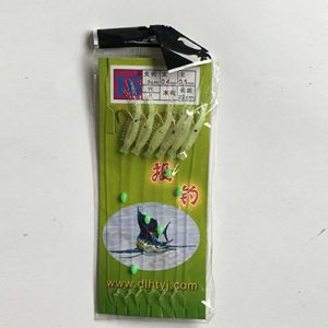 Fantasyworld Appâts de pêche d'eau Douce 3cm de crevettes d'herbe de lumière – Aléatoire