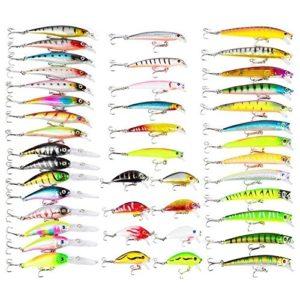 Generic * * ES Ensemble de combinaison Convient Mer Ing Lur (Instrument) rivière Lac EA River la truite Pike Leurres de pêche de Pike truite Pike