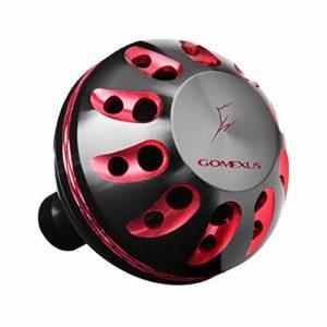 Gomexus Bouton Moulinet pour Shimano Stradic CI4 1000-4000 Daiwa Ballistic EX/LT 1000-4000 Knob Moulinet Spinning Direct,Daiwa Ninja Perceuse 35mm Métal