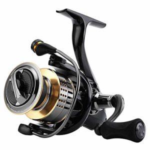 KXDLR 5,0: 1 6,2: 1 Reel Fishing 1000-6000 Moulinet 15Kg / 33Lbs en Fibre De Carbone Faire Glisser Puissance Pêche De La Carpe Filières,6000 Series