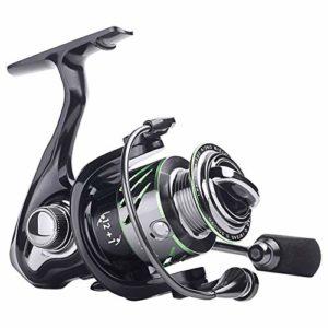 KXDLR Reel Fishing 9 + 1 Roulements en Métal 5.2: 1 Vitesse Moulinet 1000 Série Max Drag Pêche Puissance Carp pour La Basse Filières