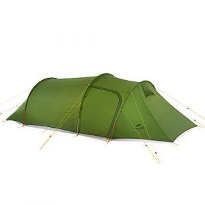 Naturehike Ultra – léger Tente extérieure Double Tunnel Alpinisme Camper Une Chambre d'entrée Quatre tentes Barros