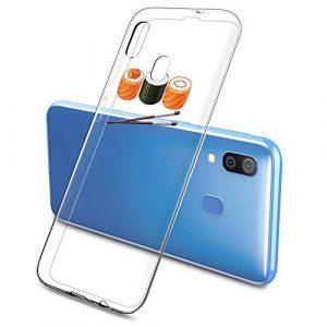 Oihxse Clair Case pour Samsung Galaxy J510 Coque Ultra Mince Transparent Souple TPU Gel Silicone Protecteur Housse Mignon Motif Dessin Anti-Choc Étui Bumper Cover (A13)