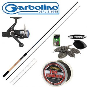 PACK FEEDER GARBOLINO SUPER ROCKET PICKER + VIPER 301RDM + NYLON + METHODE