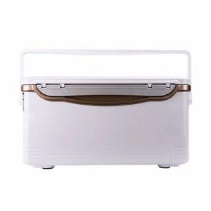 Pêche Seau, Accessoires de pêche Robuste boîte de pêche et équipement Organisateur à Compartiments Multiples d'or Facile à Stocker et à Utiliser (Color : Gold, Size : 34x67x35cm)