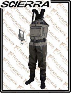 Scierra Waders Stocking Neoprene/Respirant X-Tech 20000 Chest Wader Stocking Foot – XXL, 3.5