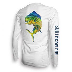 Southern Fin UPF 50 Dri Fit Long Sleeve Shirt Unisex – XX-Large, Mahi (mahi_XXL)