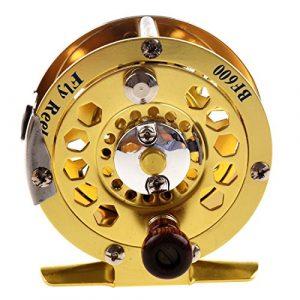 TOOGOO (R) Mouche de peche tout en metal avant le tour de la peche sur glace BF600A 0.50/100(mm/m) 1:1