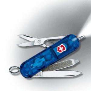 Victorinox – Couteau Suisse Victorinox Signature Lite 0.6226.T2 Bleu – 7 Fonctions
