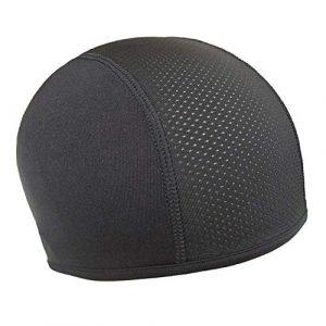 windyday Bonnet sous Casque pour Homme et Femme – Coupe-Vent – Bonnet de Cyclisme – Casquette de Moto – Protection de tête – Unisexe – pour Tour de tête de 54-68 cm Noir