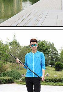 YUHAO Canne à pêche Portable – Télescopique – Super Rigide – Ultra légère – pour Voyage, Surf, Eau de mer, pêche à la Truite, en Eau Douce, 13m