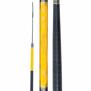 YUHAO Canne à pêche Portable – Télescopique – Super Rigide – Ultra légère – pour Voyage, Surf, Eau de mer, pêche à la Truite, en Eau Douce, 7.2m