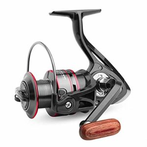 AimdonR HB 1000-6000 Moulinet de pêche métallique Professionnel High Precision Gapless Hb4000