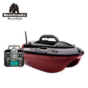 BearCreeks KINCRAP Bateau amorceur pour pêche à la carpe Avec pilote automatique GPS et écho-sondeur BC151