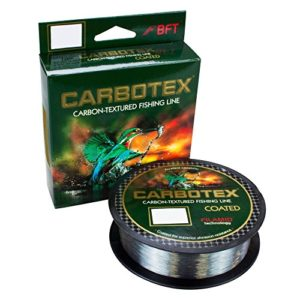 Carbotex coated invisible 0,255 mm 150 m gris