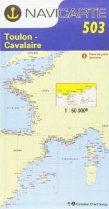 Carte marine : Toulon – Cavalaire