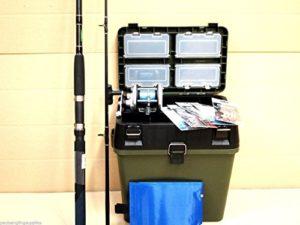 Generic.. GS Lot de boîte d'accessoires OD Bobine Tackle Bas de ligne S Bateau de pêche en mer Mer Poisson 7F Tige le Box Kit Assise à bobine de kit Bas de ligne d'accessoires de