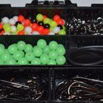 Generic Lot de 597 Crochets à sertir dans Une boîte de 597 p pour pêche en mer
