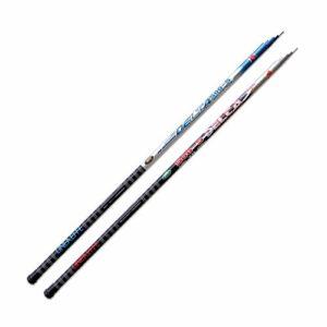 Lineaeffe Fixe Delta 4 m 5-20 g Canne à Pêche Fixe Mer Rivière Etang Carbone Télescopique