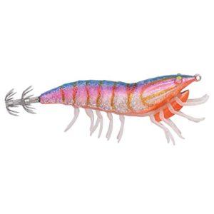 Savage Gear TURLUTTE 3D Hybrid Shrimp EGI – 7.5CM – 12, A l'unité, Blue Back, 7.5