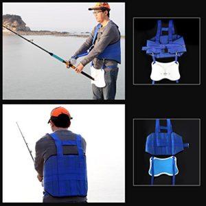 XiaoMall Harnais de pêche pour Gros Poissons en mer