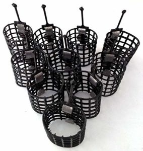 10 cage feeders 15g match course feeders carp fishing tackle by BZS