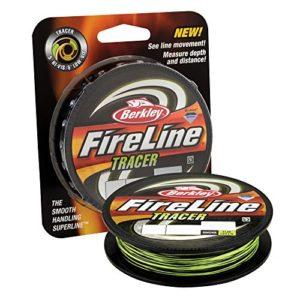 Berkley Fireline Crystal Fusionné Superline, Smoke/Flame Green