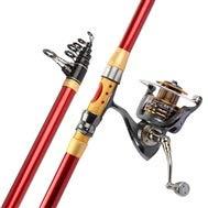 CANNES MAZHONG Raccords en métal de positionnement télescopique de Haute qualité à pêche Assurance qualité -3.9M