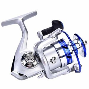 Keenso Équipement de pêche, Moulinet DEUKIO à Grande Vitesse pour la pêche en mer Moulinet à Lancer à 7: 1 allumettes pour Lancer Rapide(AL5000)