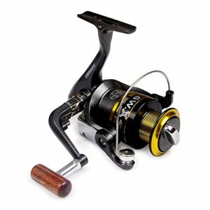 LOYFUN Reel Spinning Durable, Spinning Fishing Reel 10 + 1 Bearings Left Right Manche Interchangeable for Eau de mer Douce avec système de Frein à Double Friction (Size : 3000)